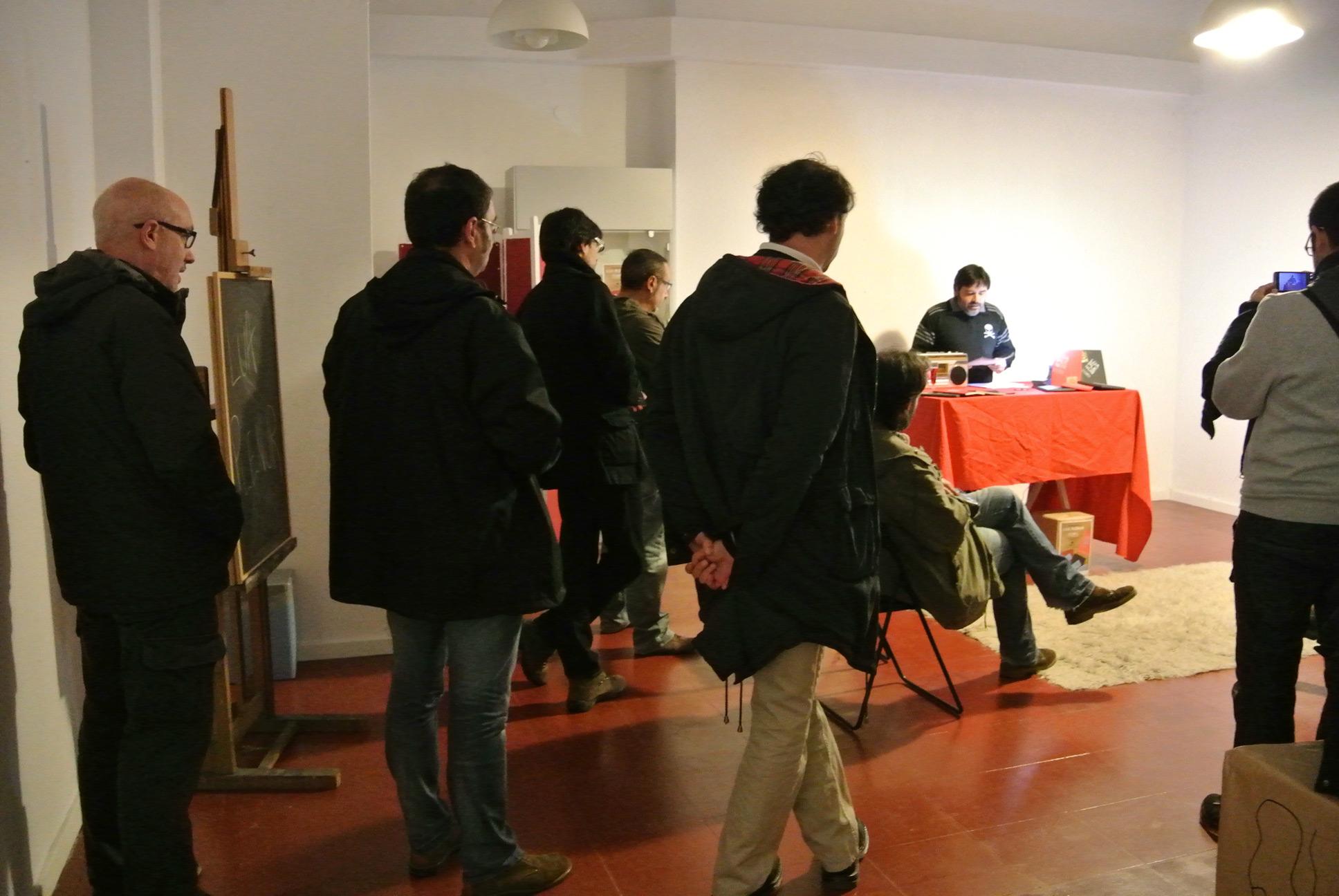 """<span class=""""entry-title-primary"""">Presentación de Lúa Plenur en Ourense</span> <span class=""""entry-subtitle"""">Sindicato del Cómic, 5-12-2014</span>"""