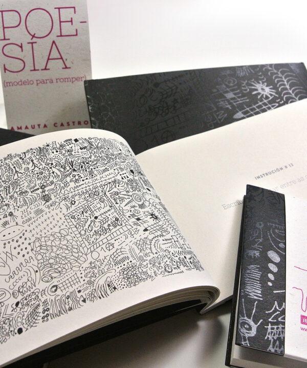 Poesía (modelo para romper). <br><h3>Amauta Castro</h3>